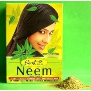 poudre de neem, entretien de cheveux afro