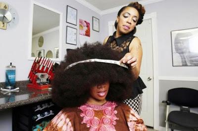 Aevin dugas plus grande afro du monde 17
