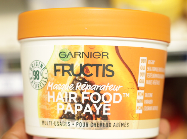 Hair Food de Garnier cheveux afro