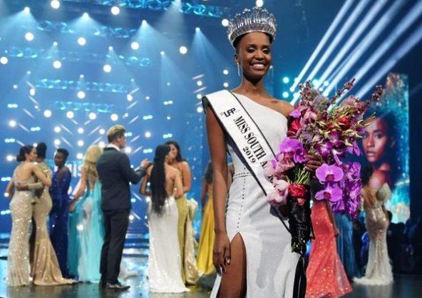 Zozibini Tunzi, Miss Afrique du Sud 2019