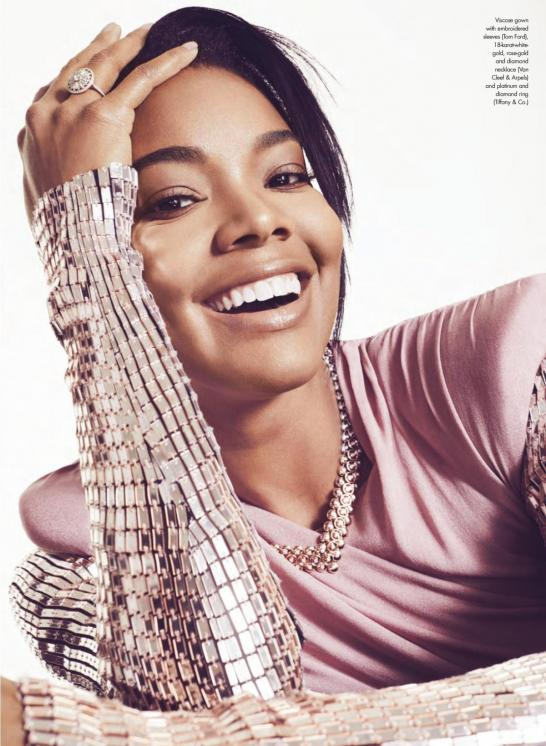 Gabrielle union in elle magazine canada march 2018 issue 3