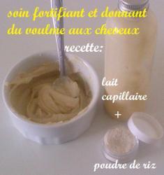 Soin-protéiné-poudre-de-riz-cheveux-afro